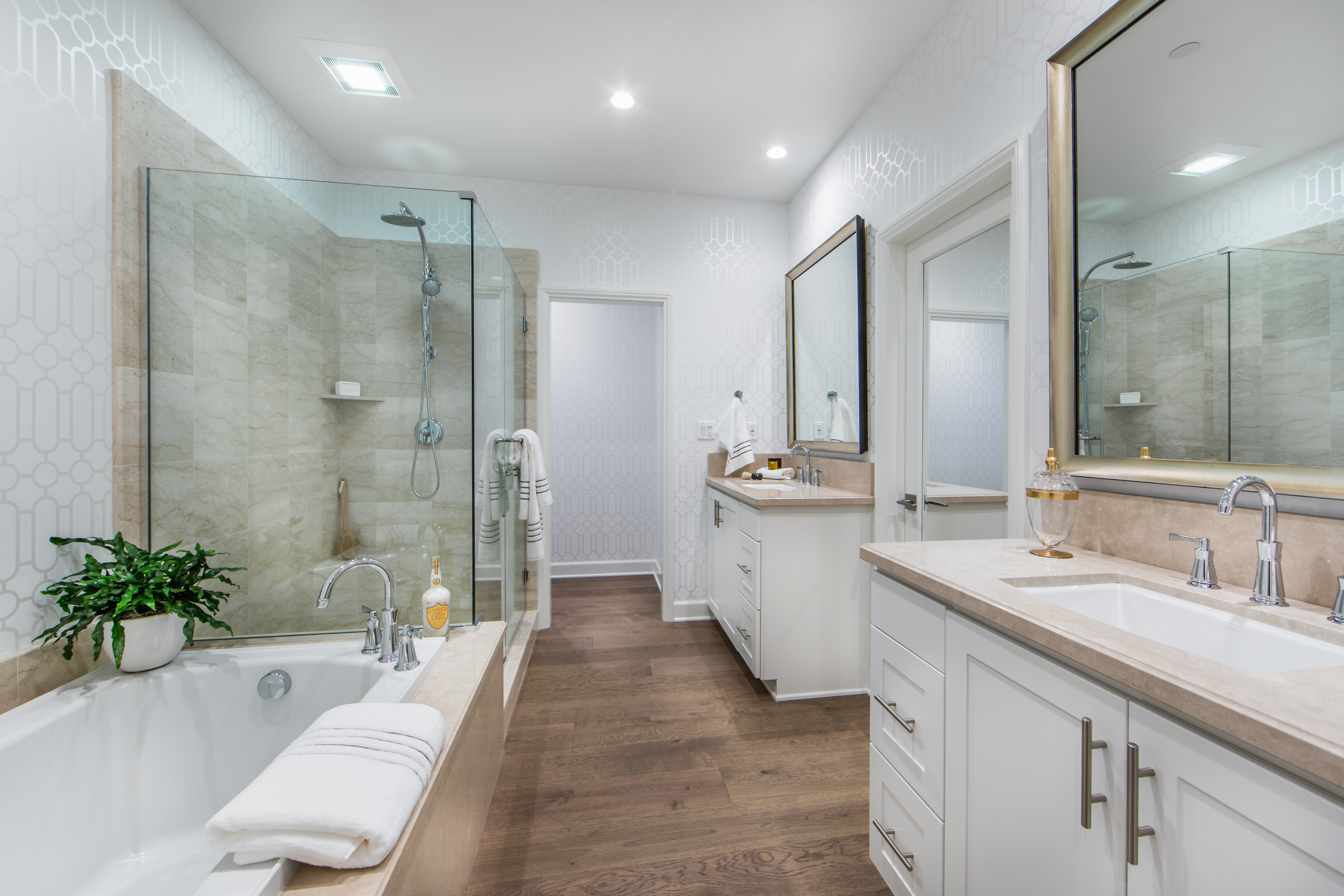 Master Bathroom at Marin Residence 2 in Irvine