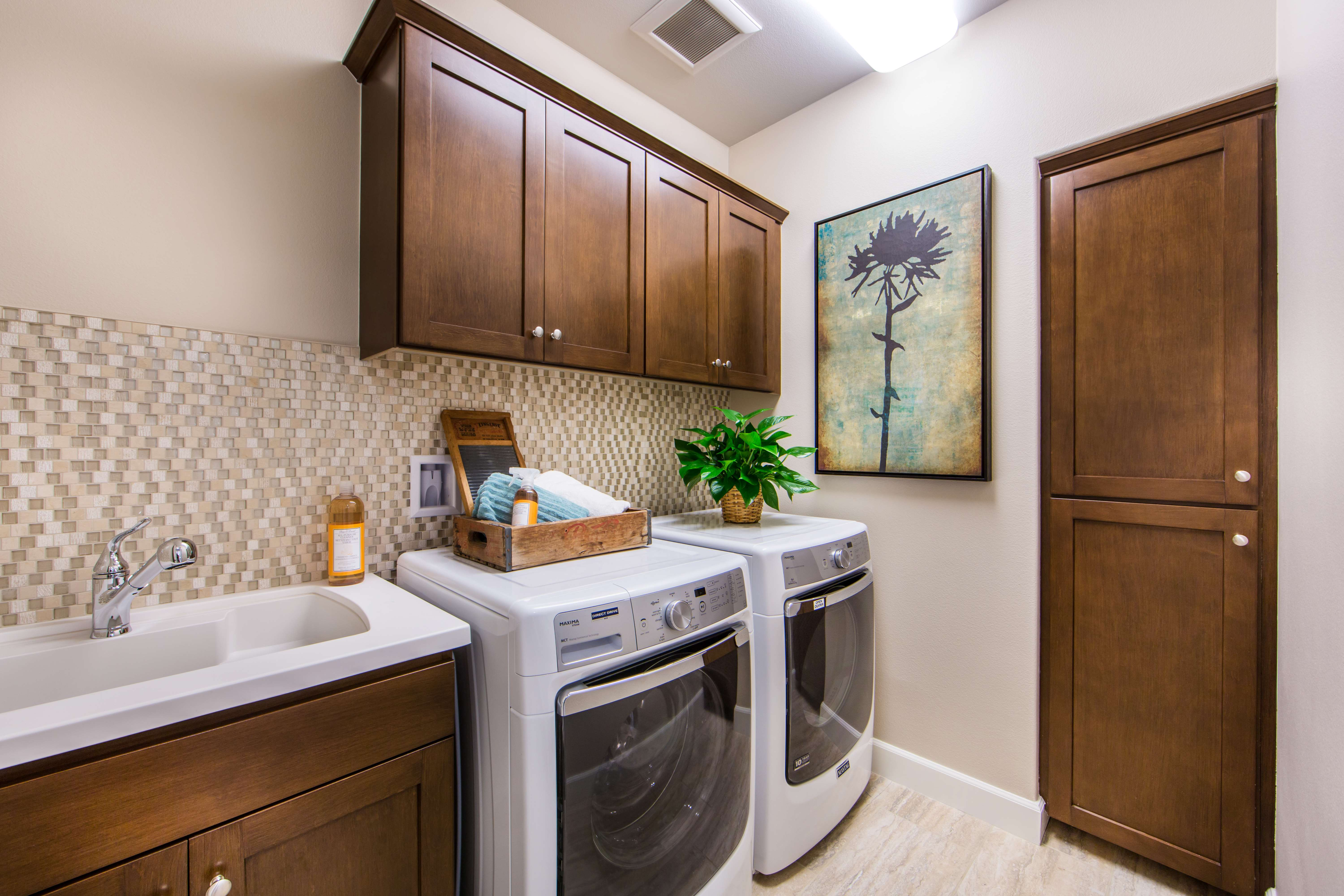 Laundry Room at Marin Residence 1 in Irvine