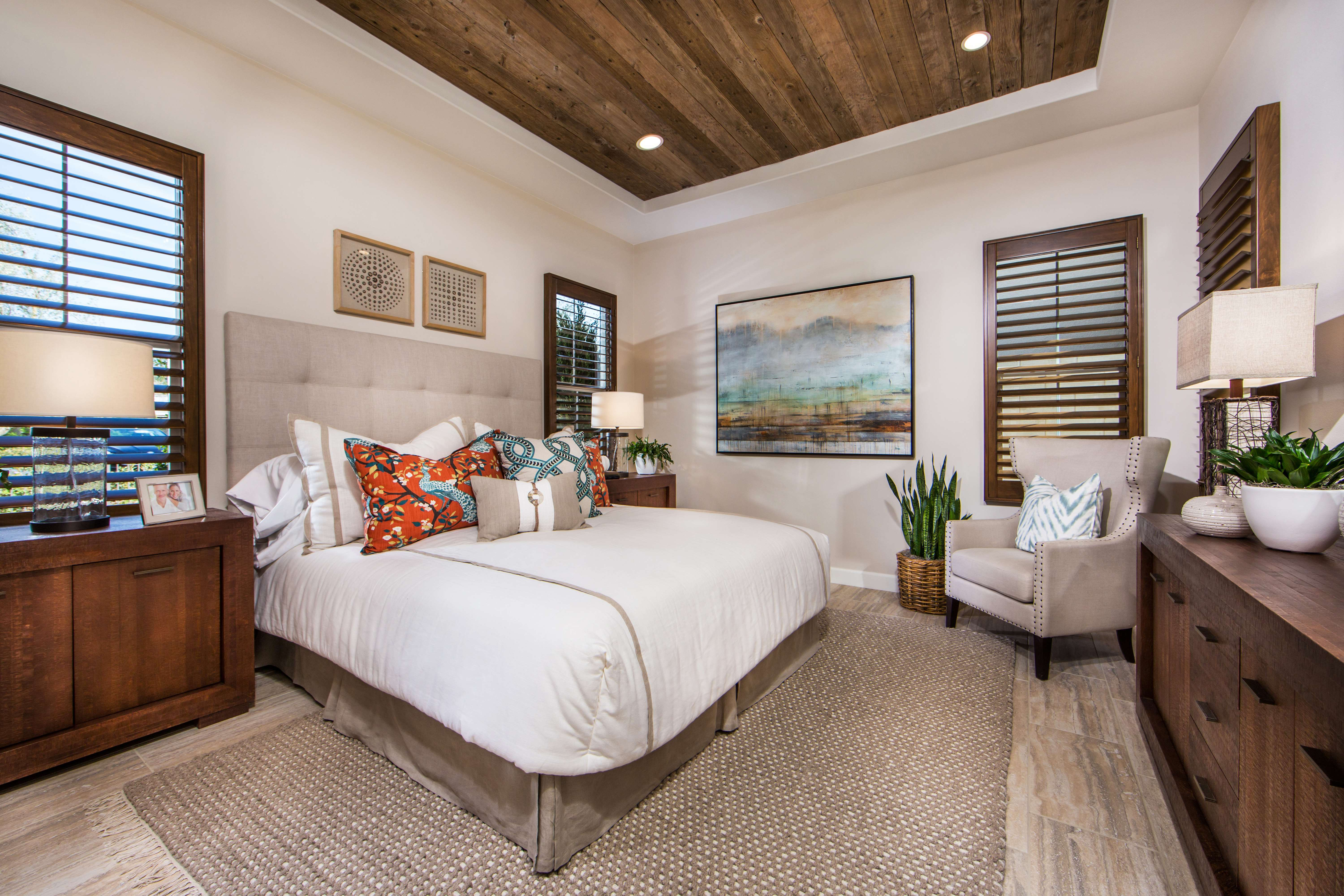 Master Bedroom at Marin Residence 1 in Irvine