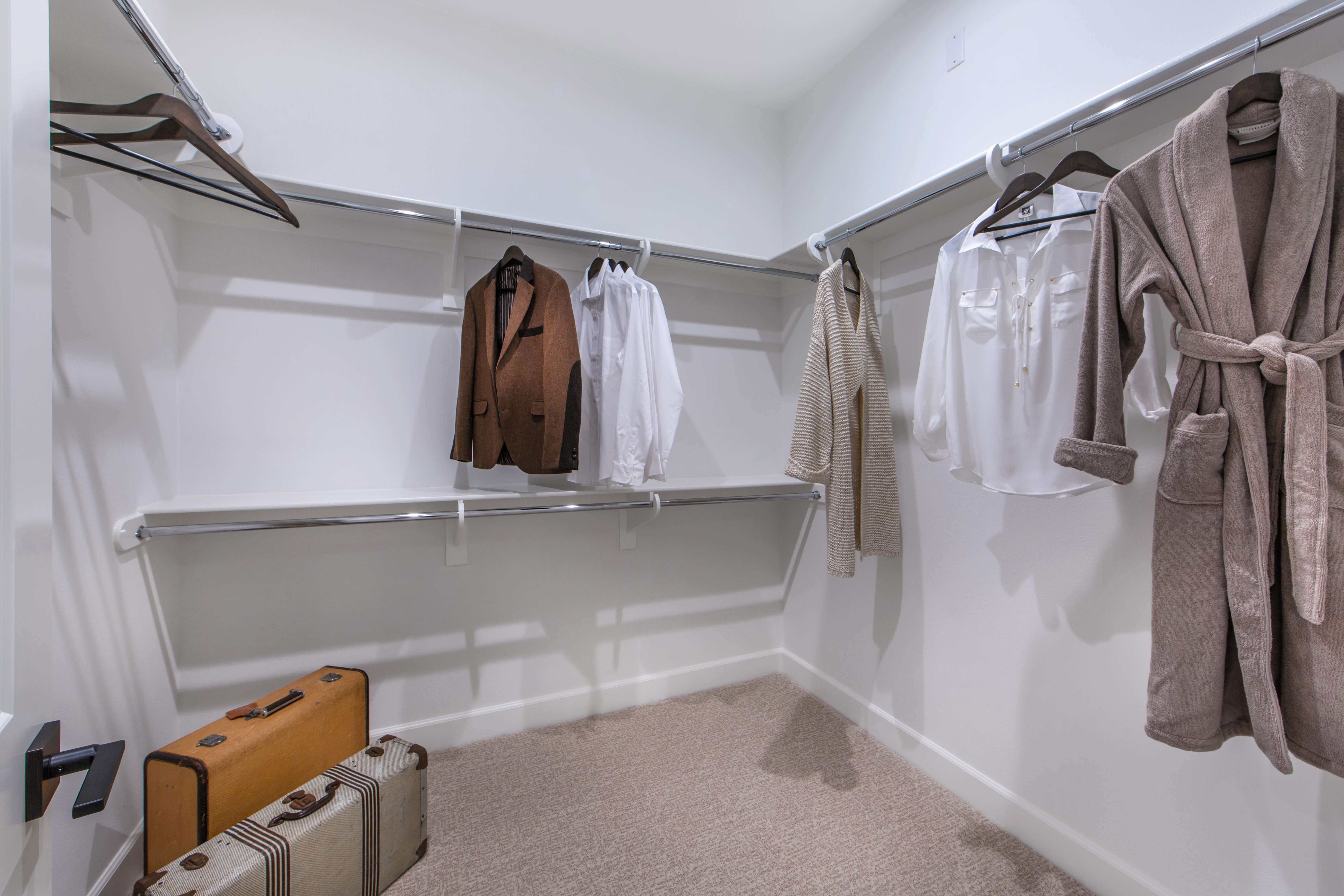 Master Closet at Marin Residence 1 in Irvine