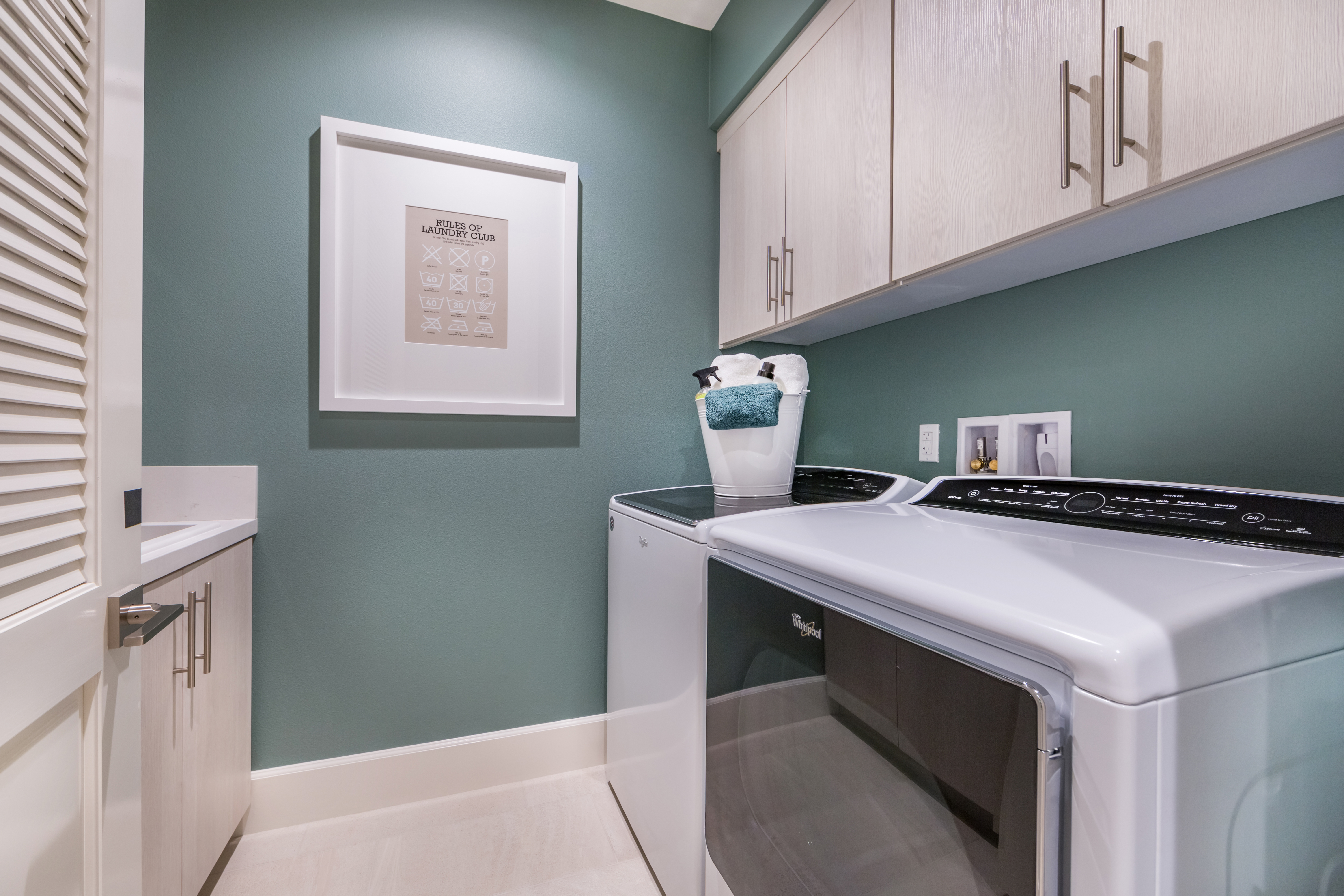 Laundry Room at Verdi Residence 1 in Irvine