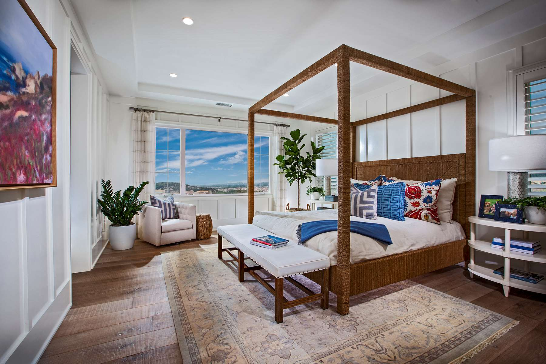 Master Bedroom at Como Residence 2 in Irvine