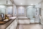 Master Bathroom at Como Residence 1 in Irvine