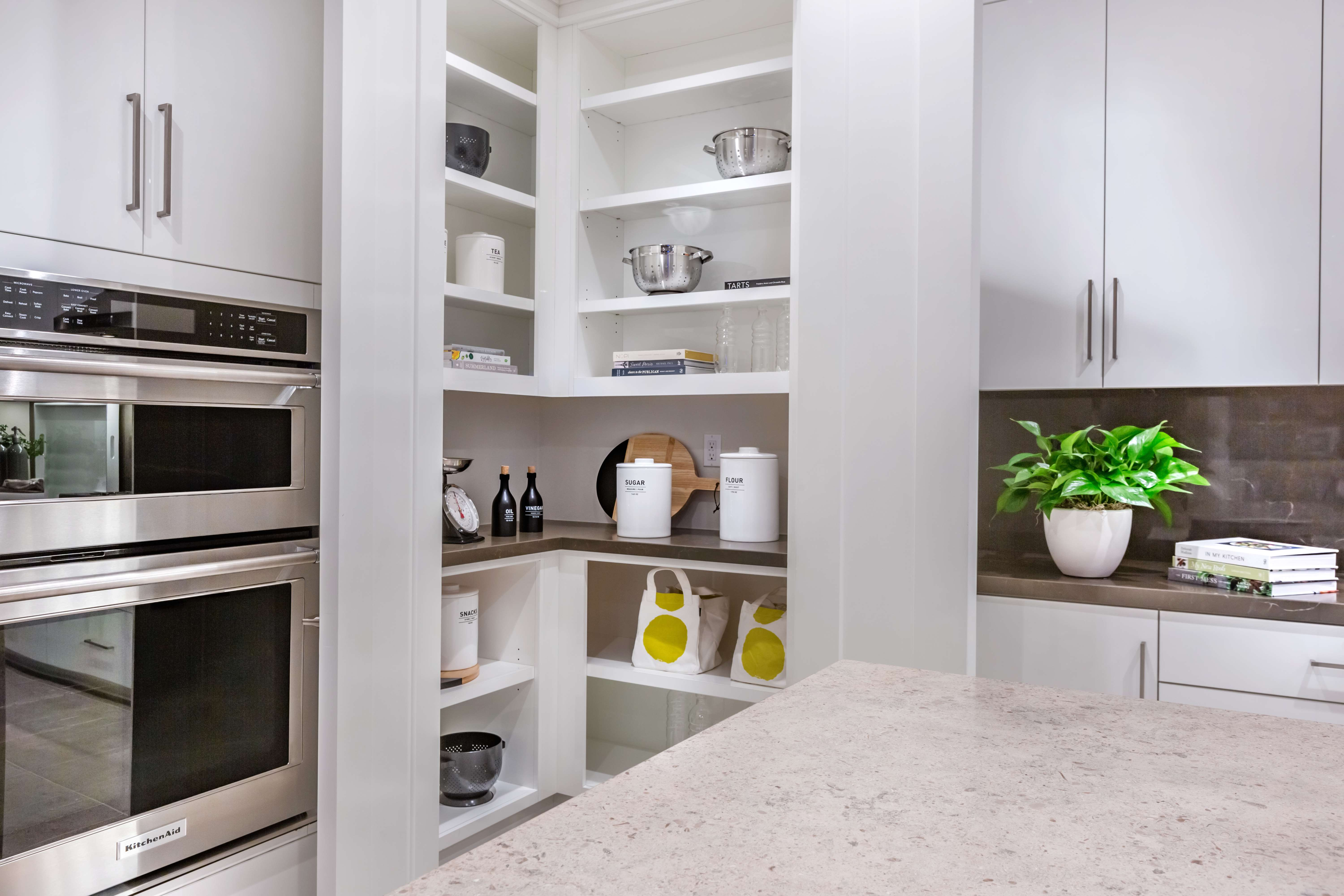 Pantry at Como Residence 1 in Irvine