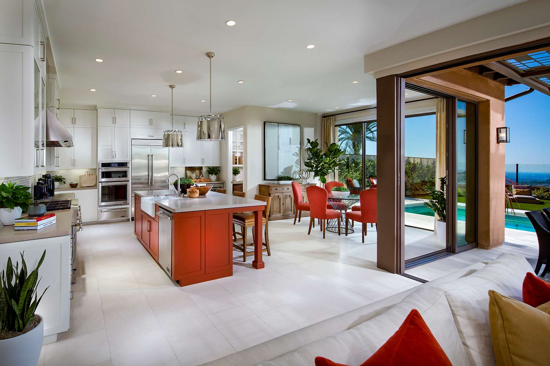 Kitchen at Terra Residence 2 in Irvine