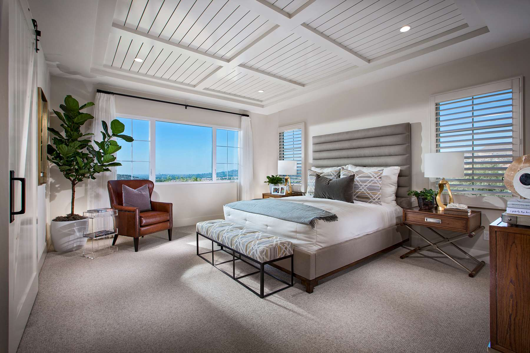 Master Bedroom at Terra Residence 1 in Irvine