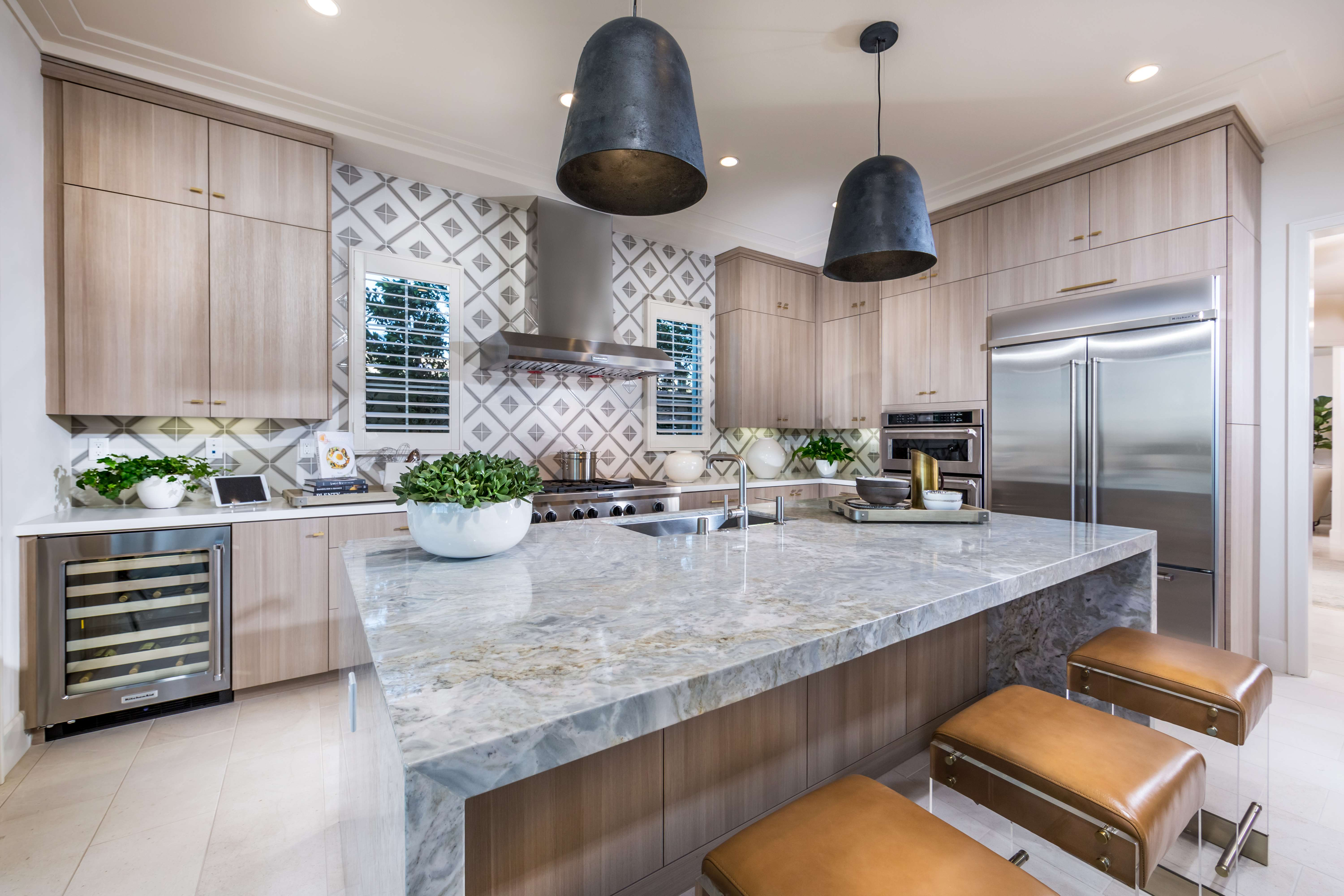 Kitchen Detail at Terra Residence 1 in Irvine