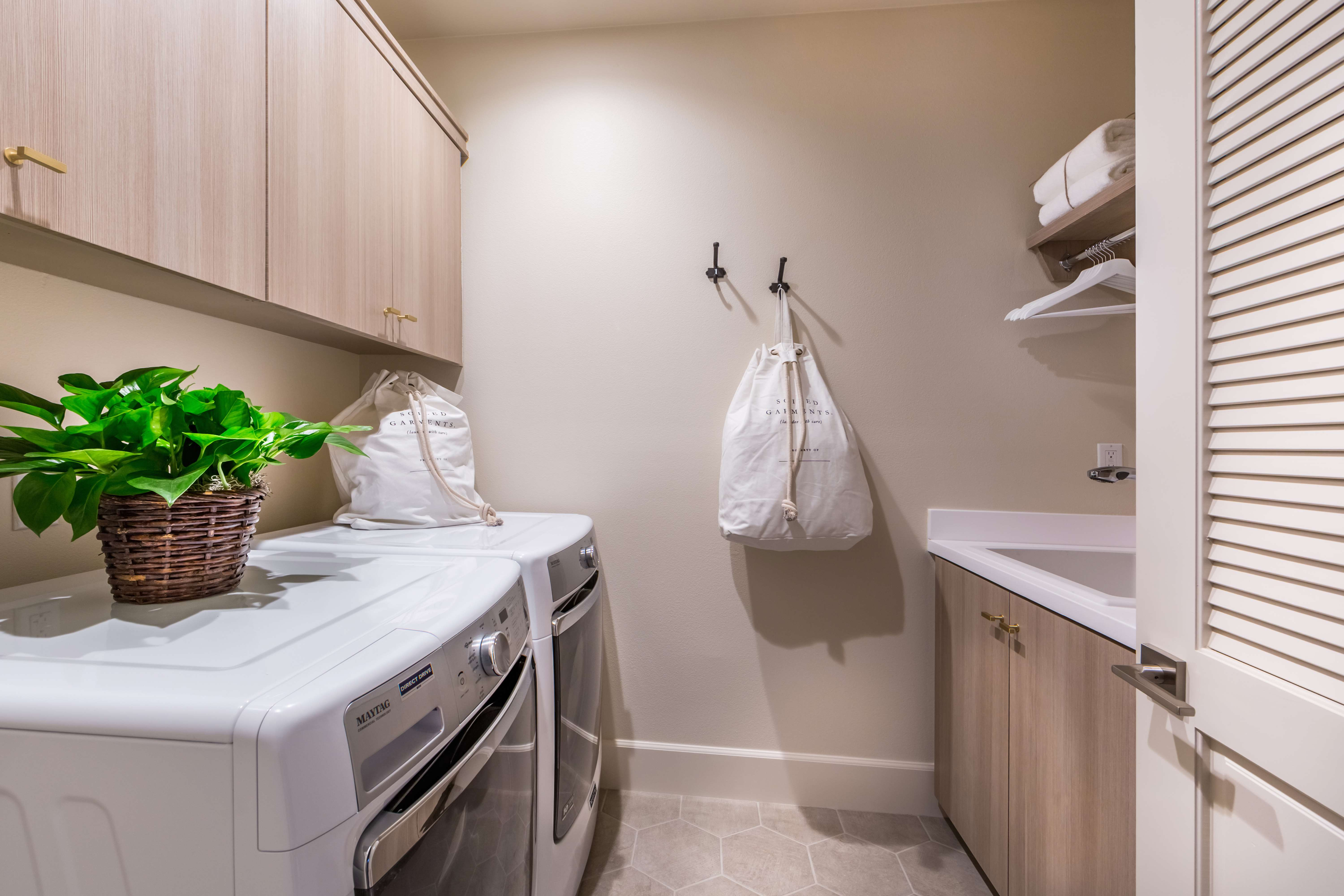Laundry Room at Terra Residence 1 in Irvine