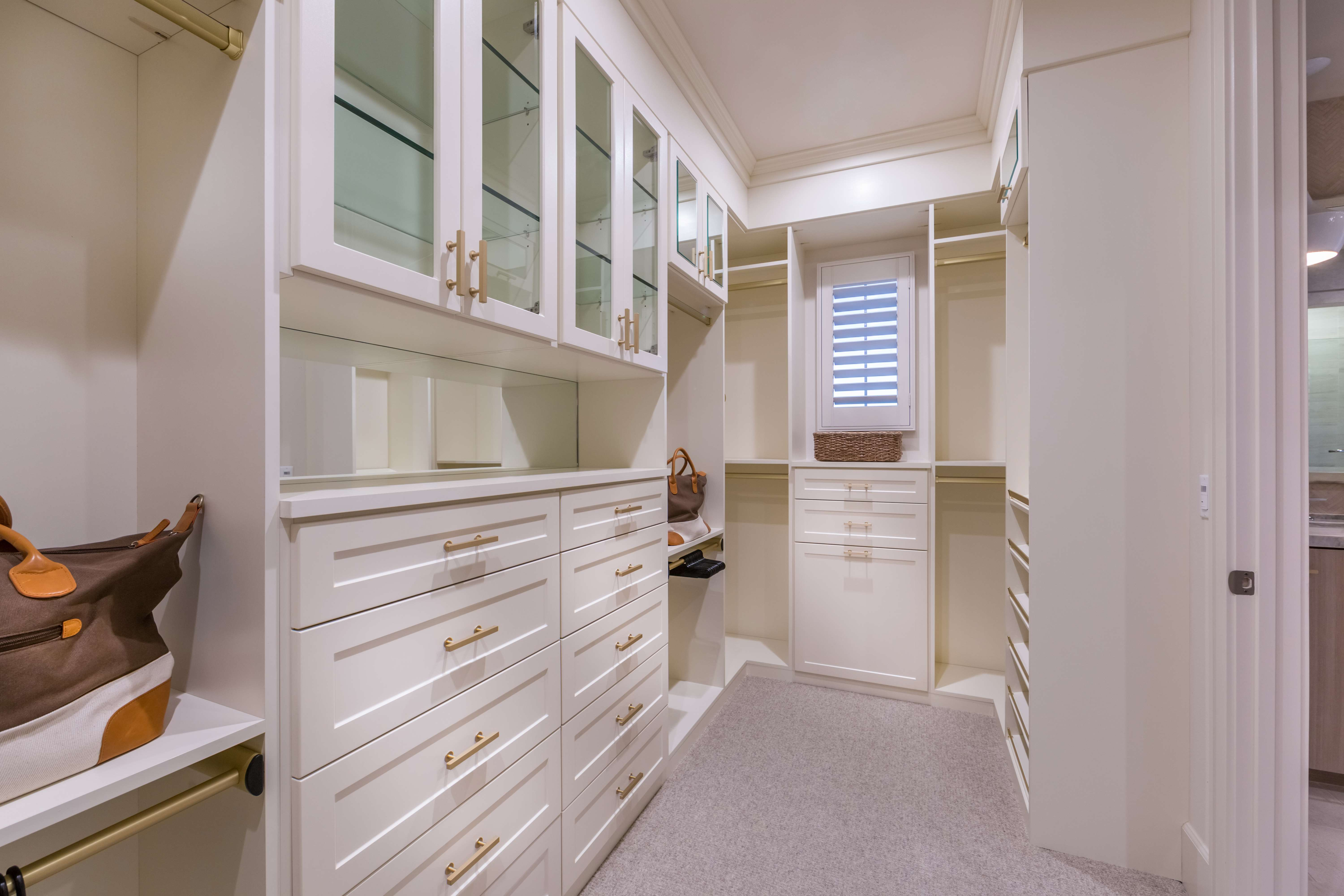 Master Closet at Terra Residence 1 in Irvine