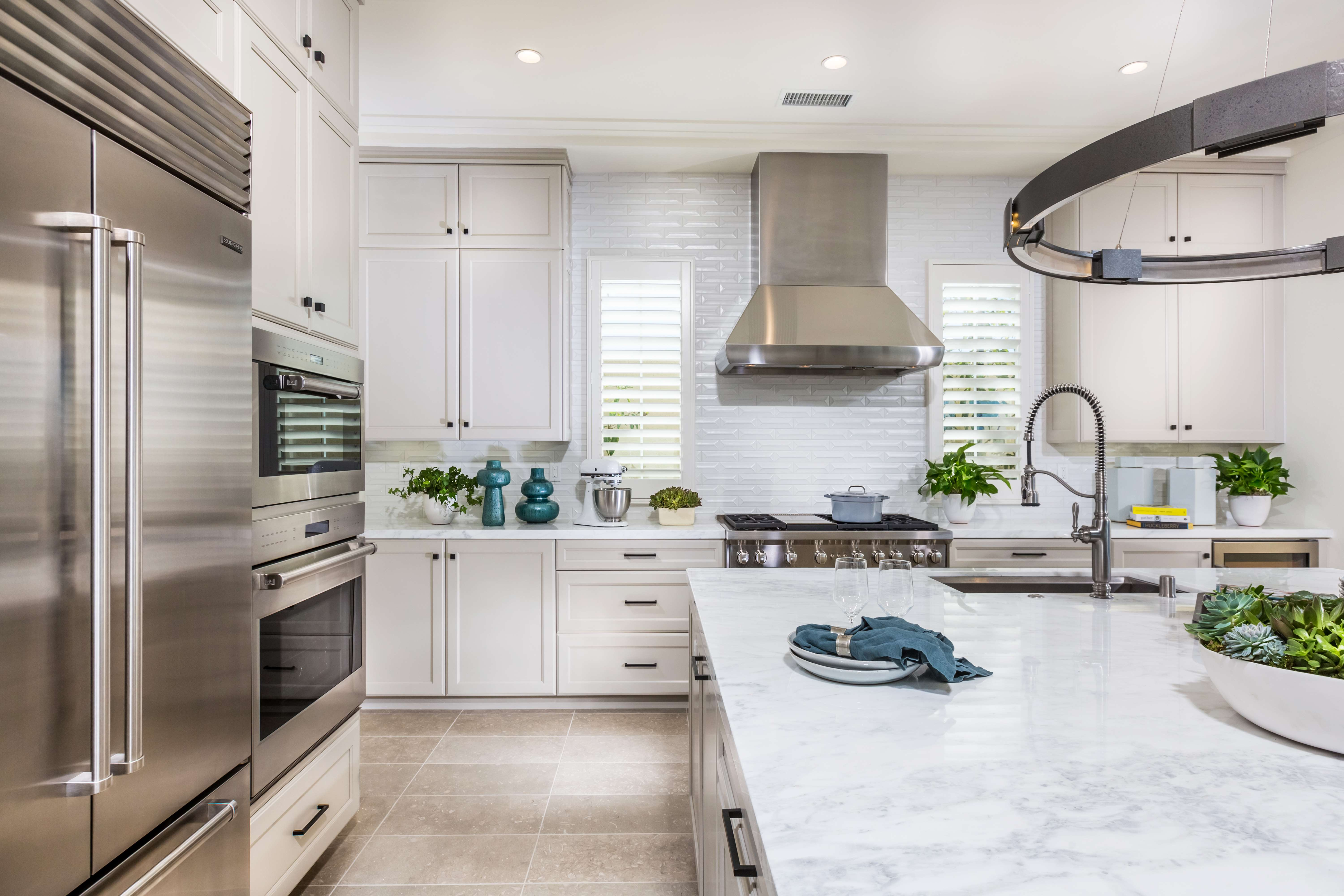 Kitchen Detail at Terra Residence 3 in Irvine