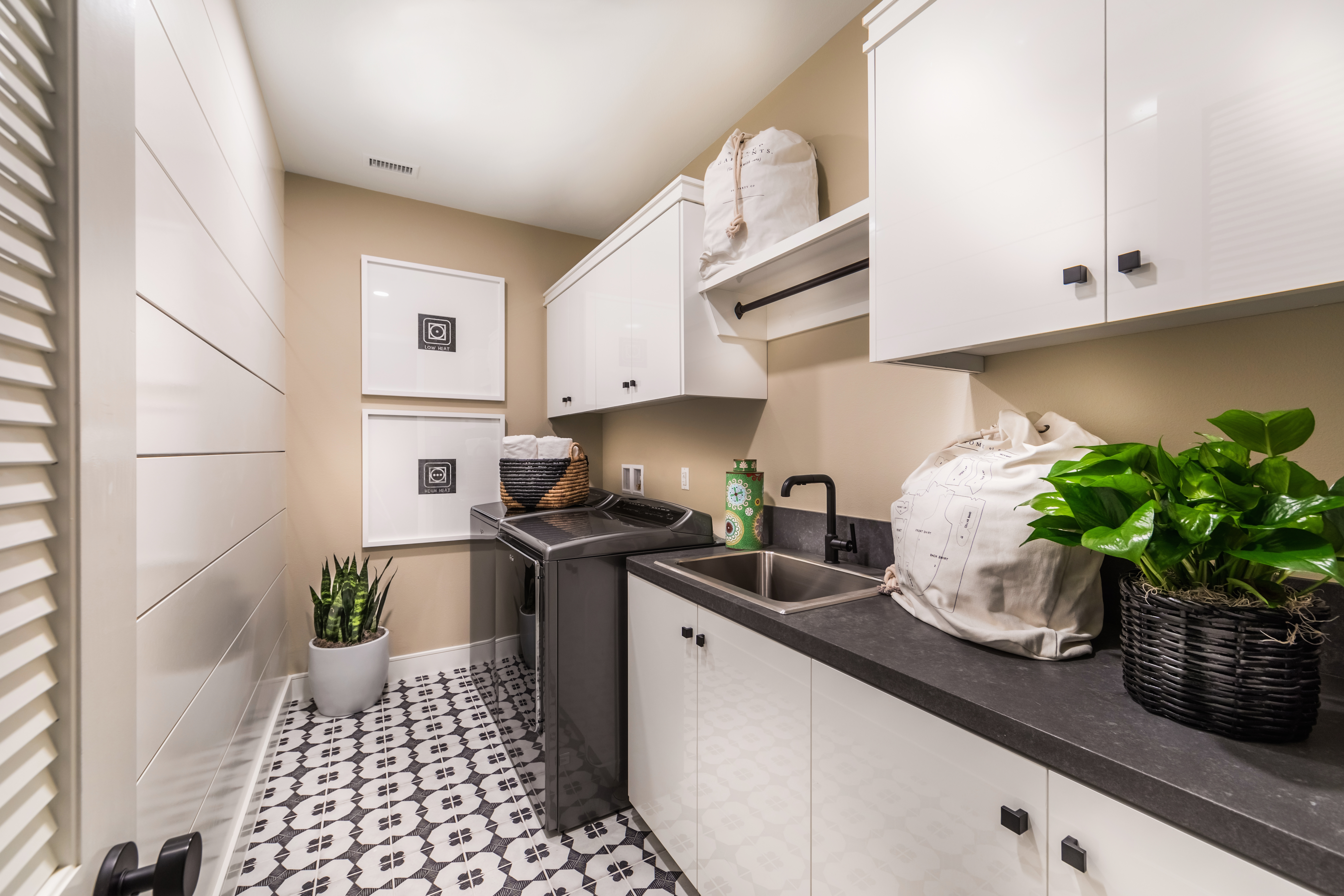 Laundry Room at Barcelona Residence 3 in Irvine