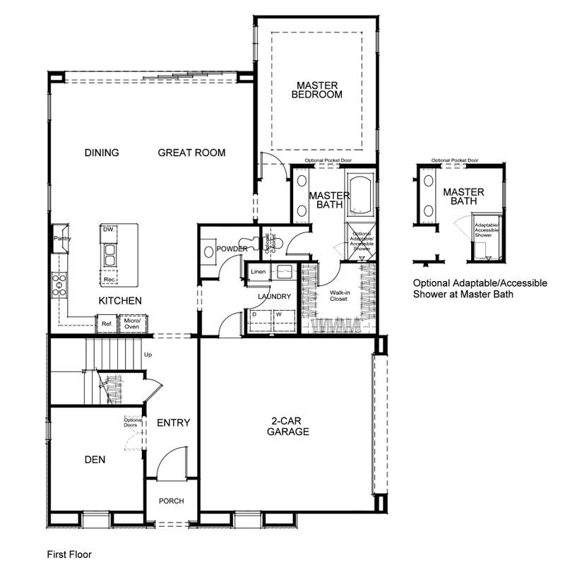 Verdi Plan 1 First Floor