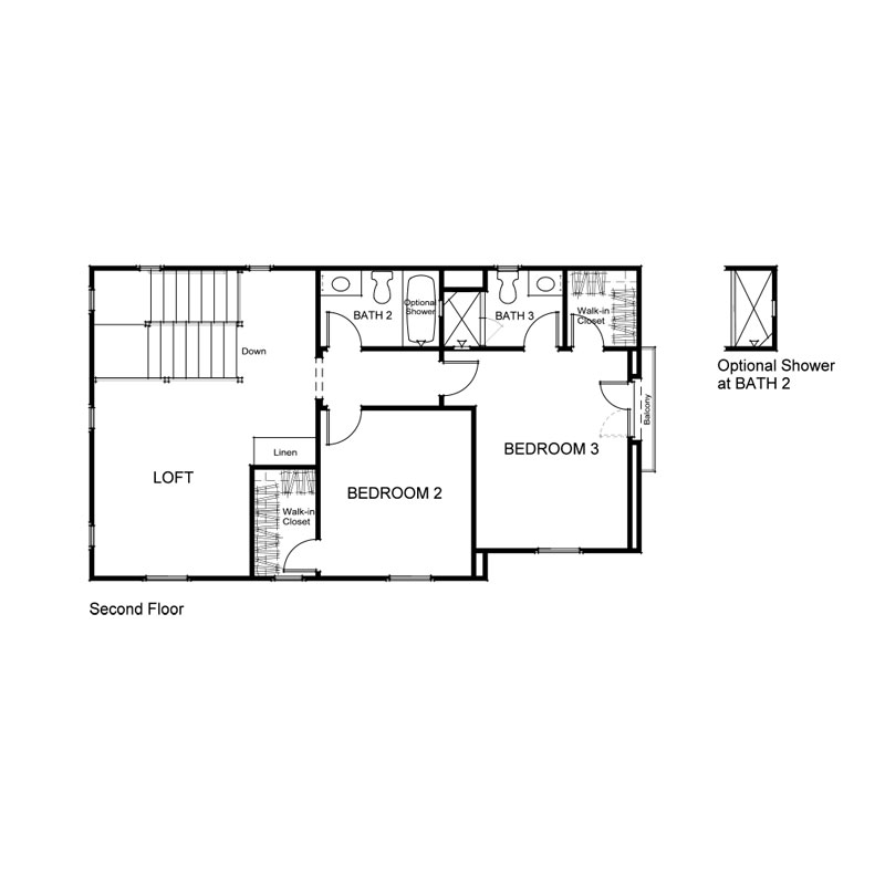Verdi Plan 1Y Second Floor