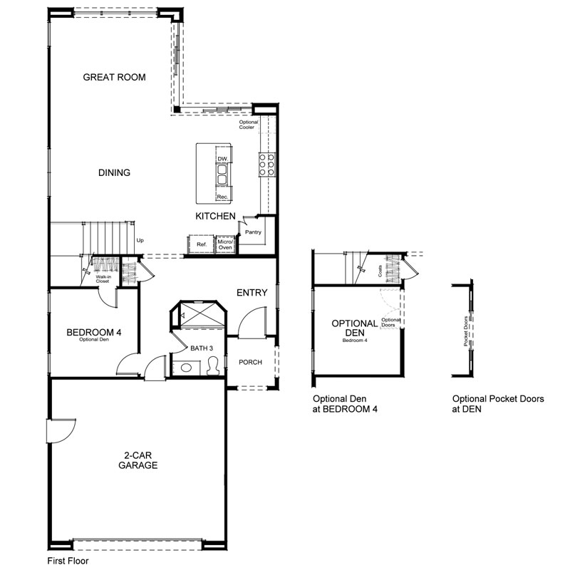 Como Plan 1 First Floor