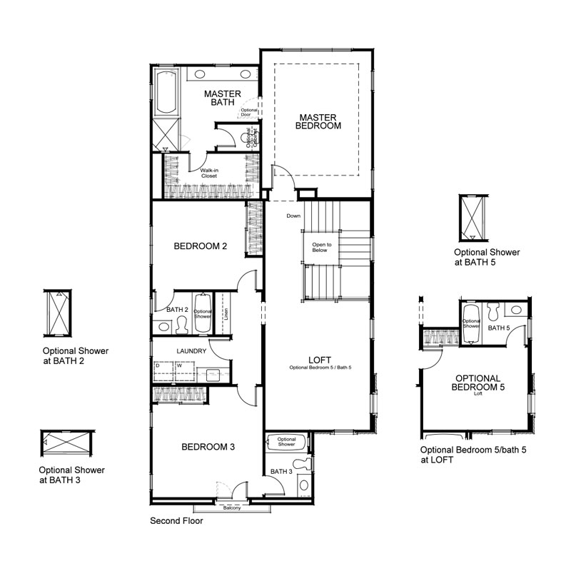 Como Plan 2 Second Floor