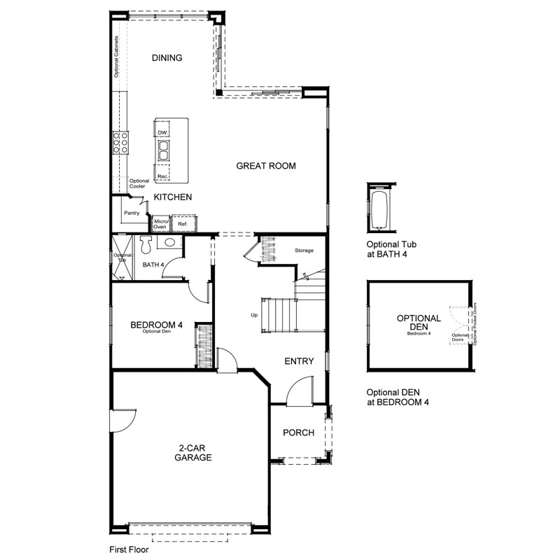 Como Plan 2 First Floor