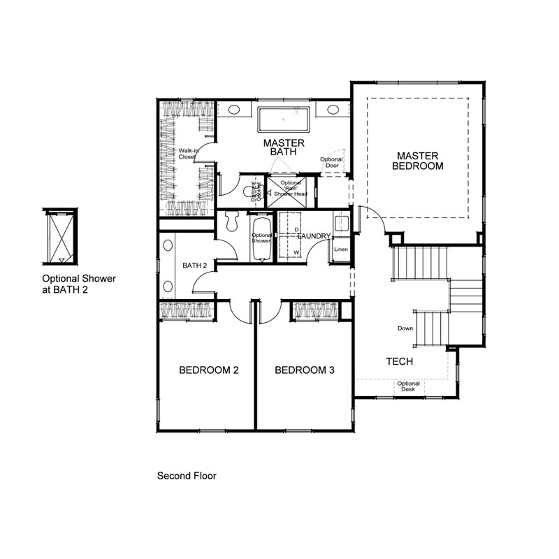 Terra Plan 1 Second Floor