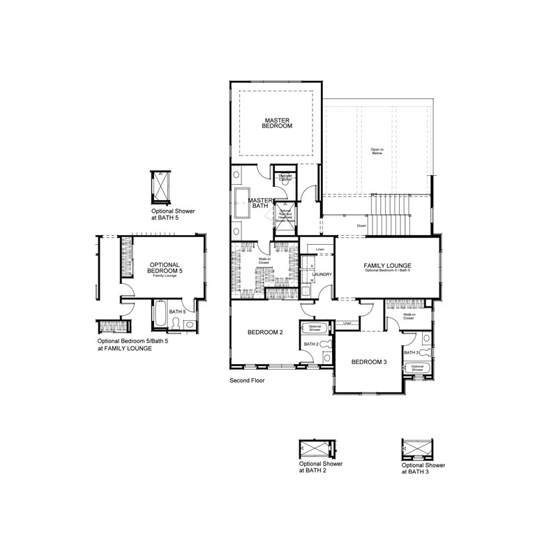 Ravello Plan 3X  Second Floor