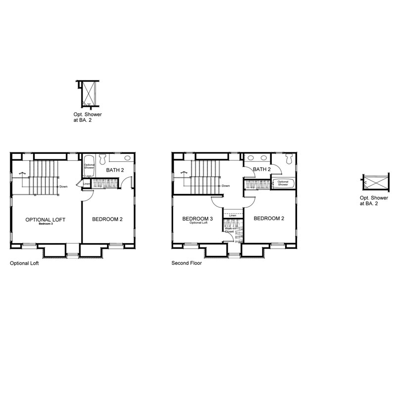 Marin Plan 1 Second Floor