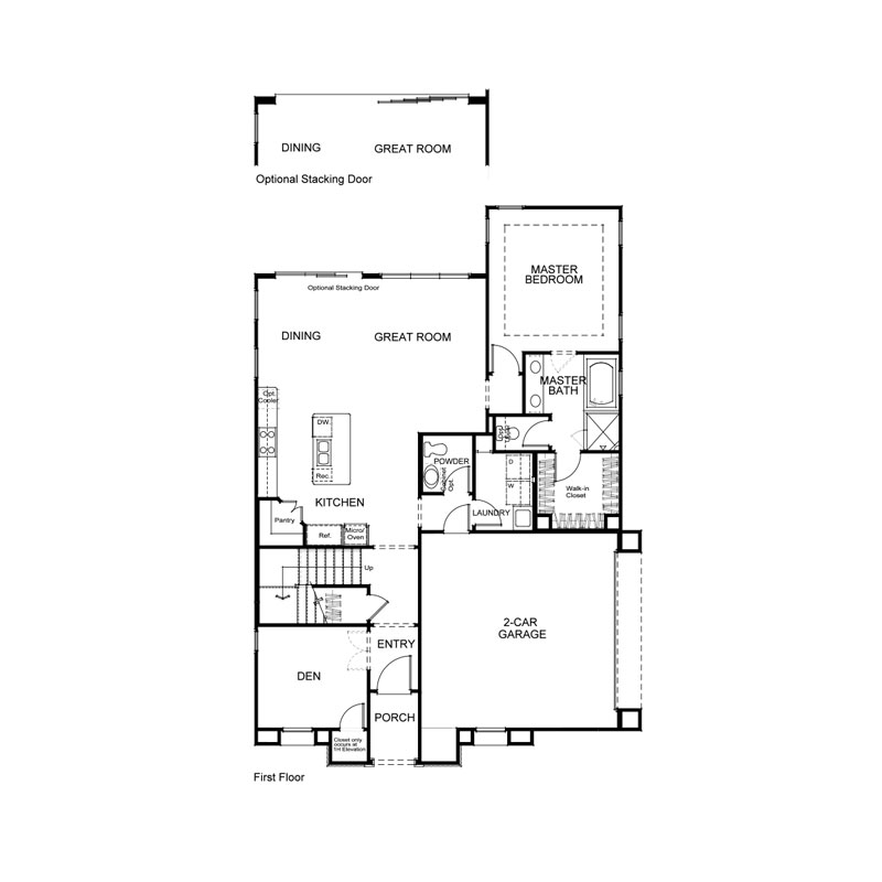 Marin Plan 1 First Floor