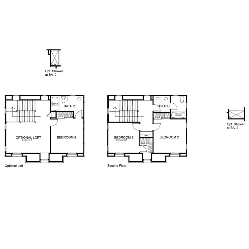 Marin Plan 1X Second Floor