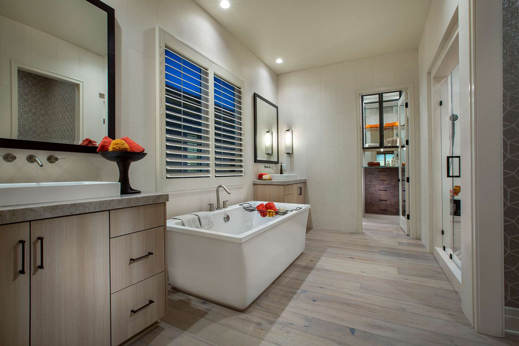 Ravello Plan 3X Master Bathroom