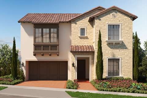 Tuscan Style Exterior - Tuscan in Irvine