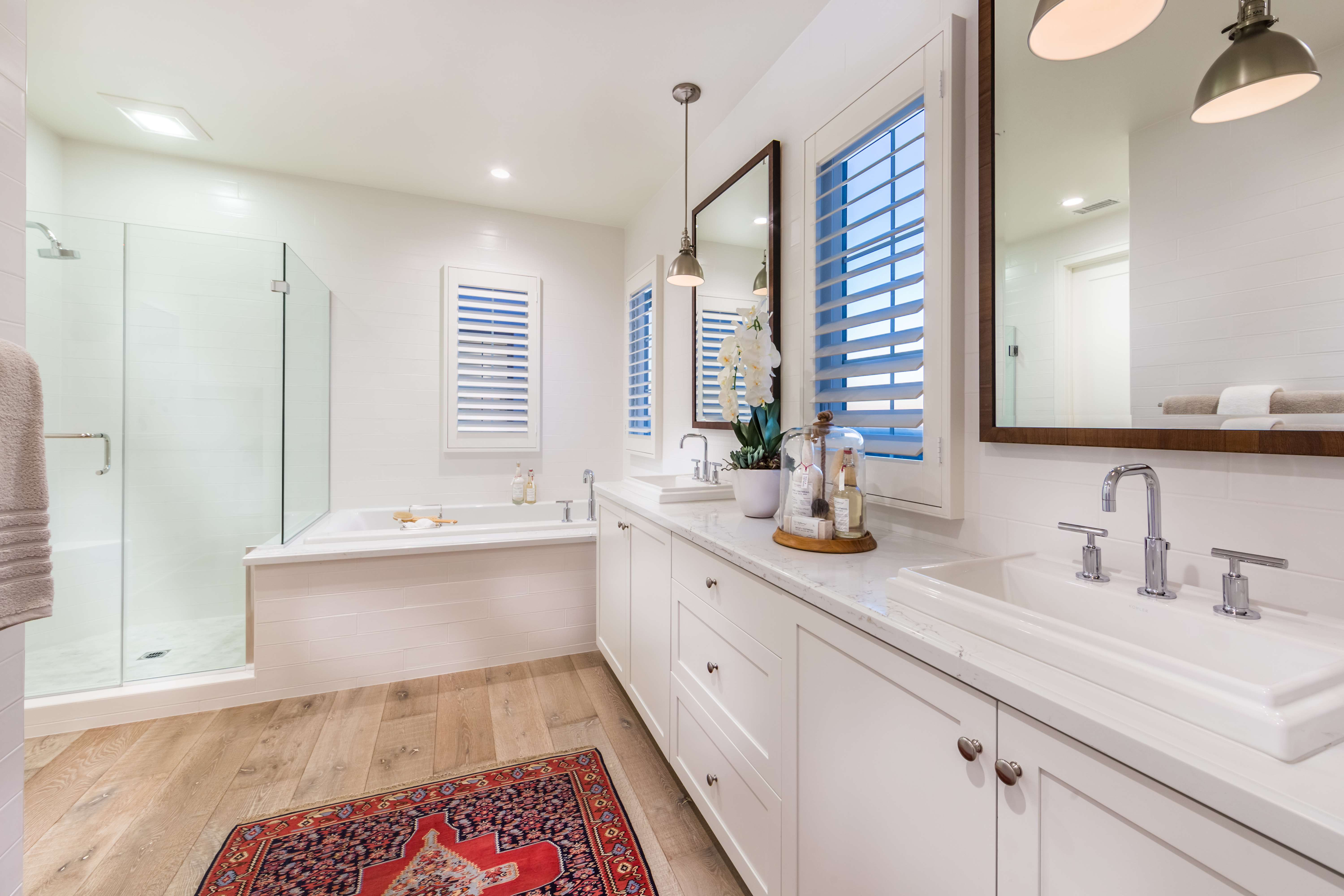 Master Bathroom at Como Residence 2 in Irvine