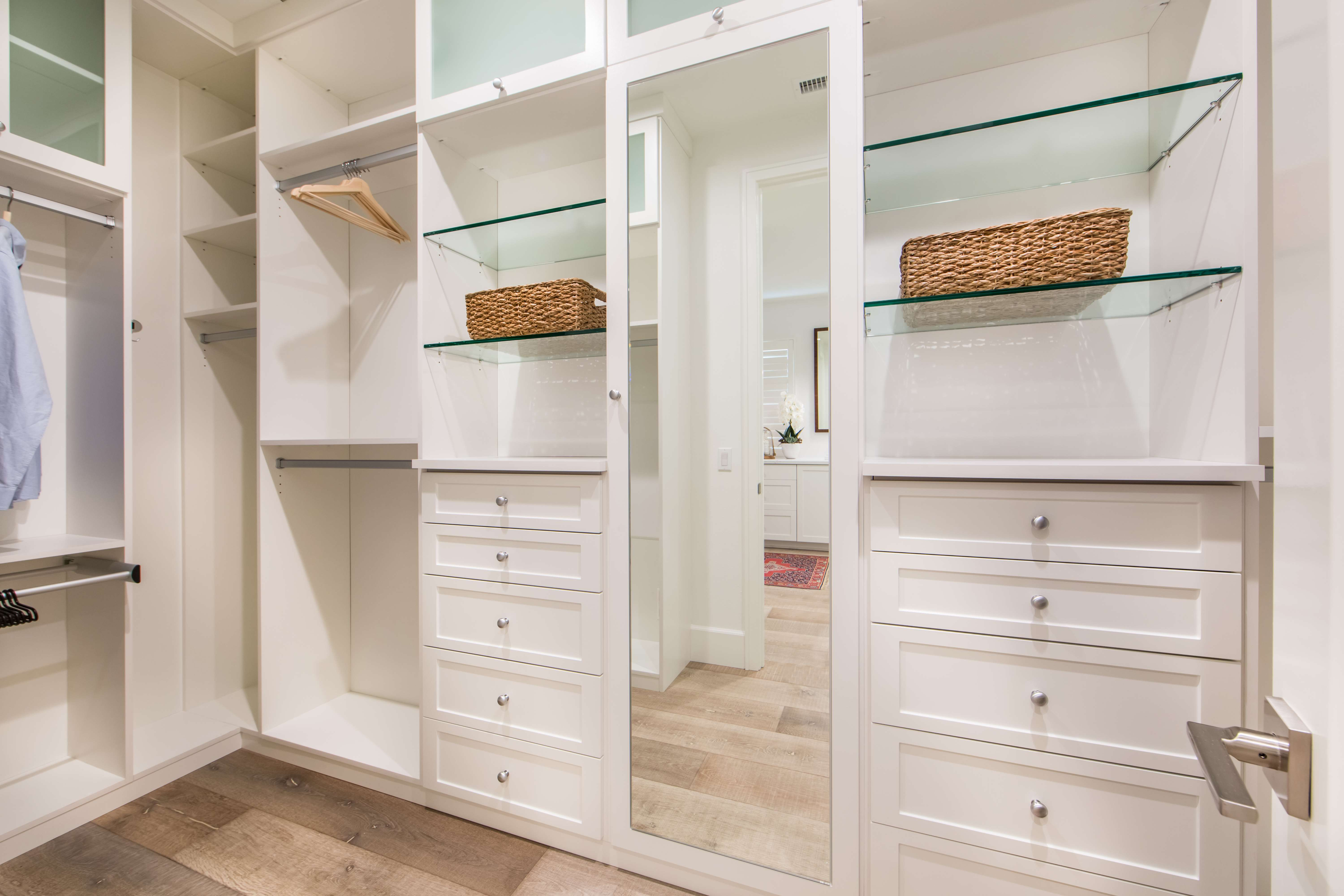Master Closet at Como Residence 2 in Irvine