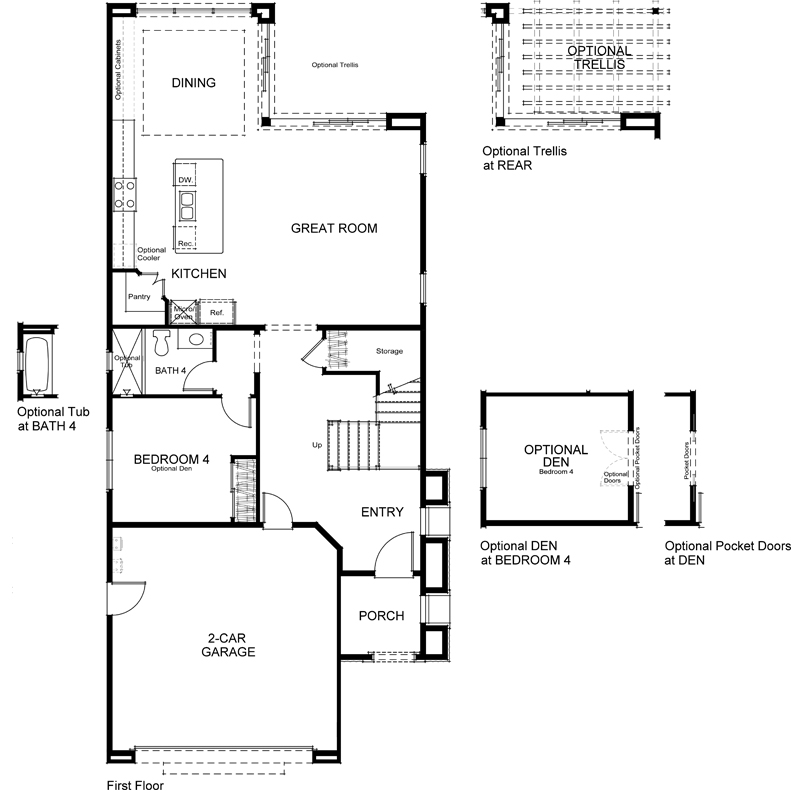 Highland Plan 2X First Floor