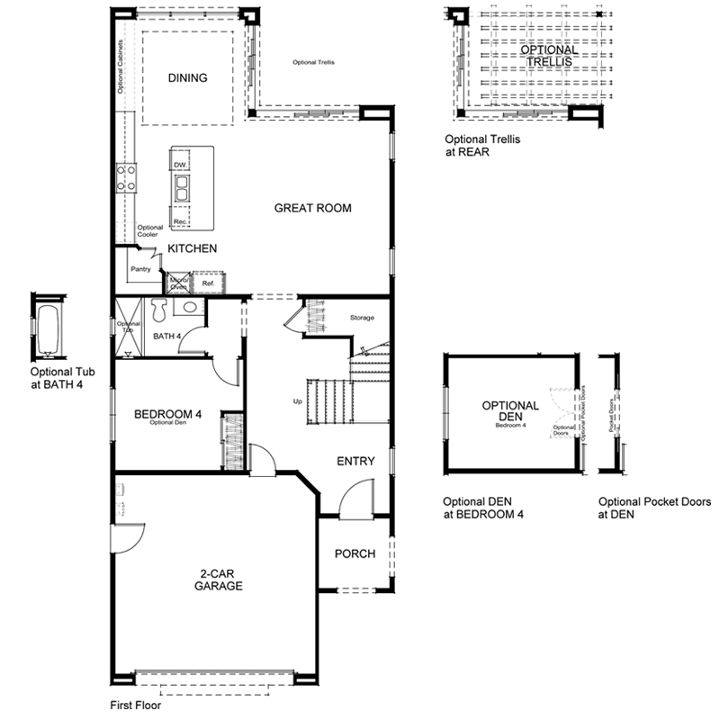 Highland Plan 2 First Floor