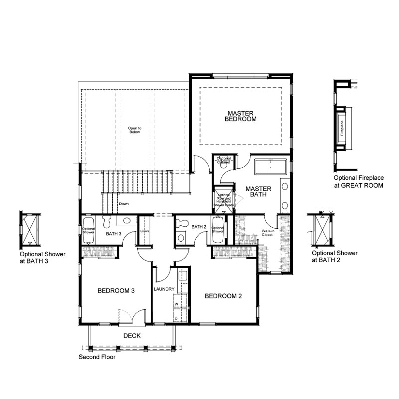 Ravello Plan 4 First Floor