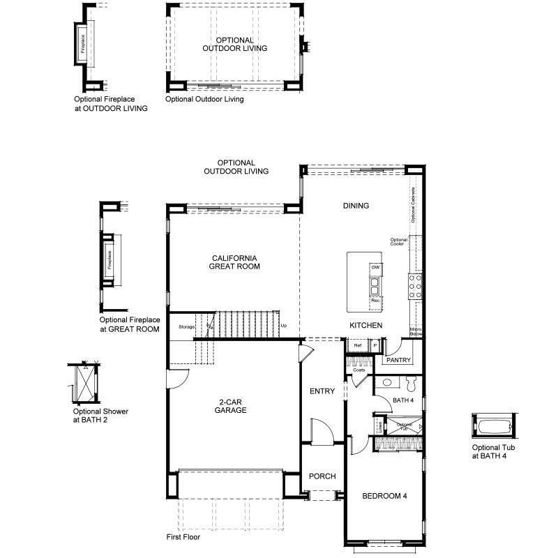 Ravello Plan 4 Second Floor