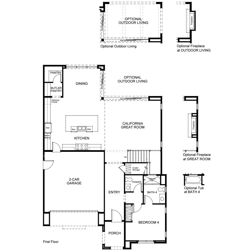 Ravello Plan 5 First Floor