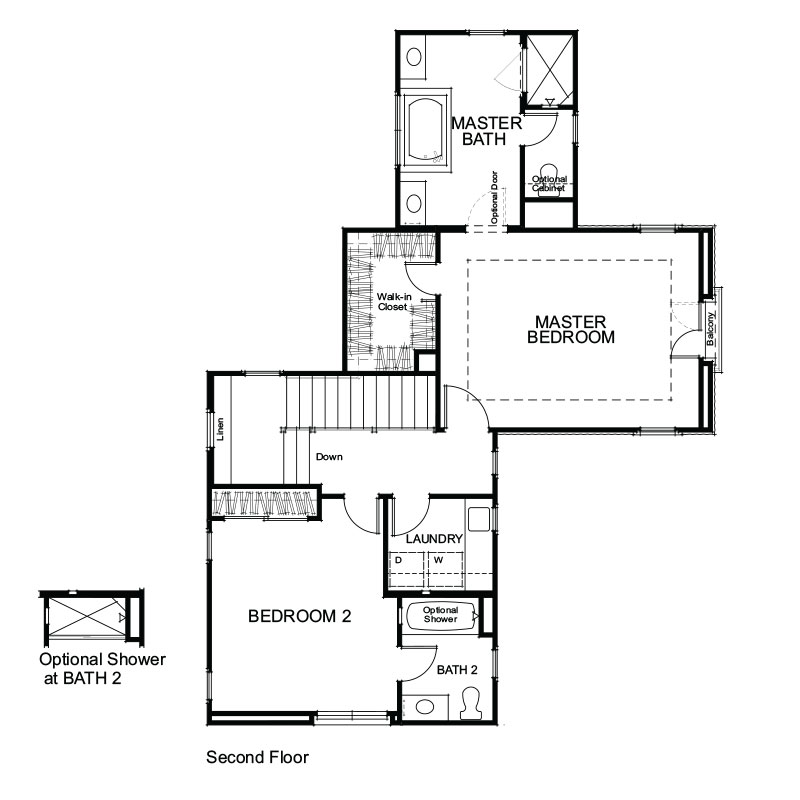 Lago Plan 2 Second Floor