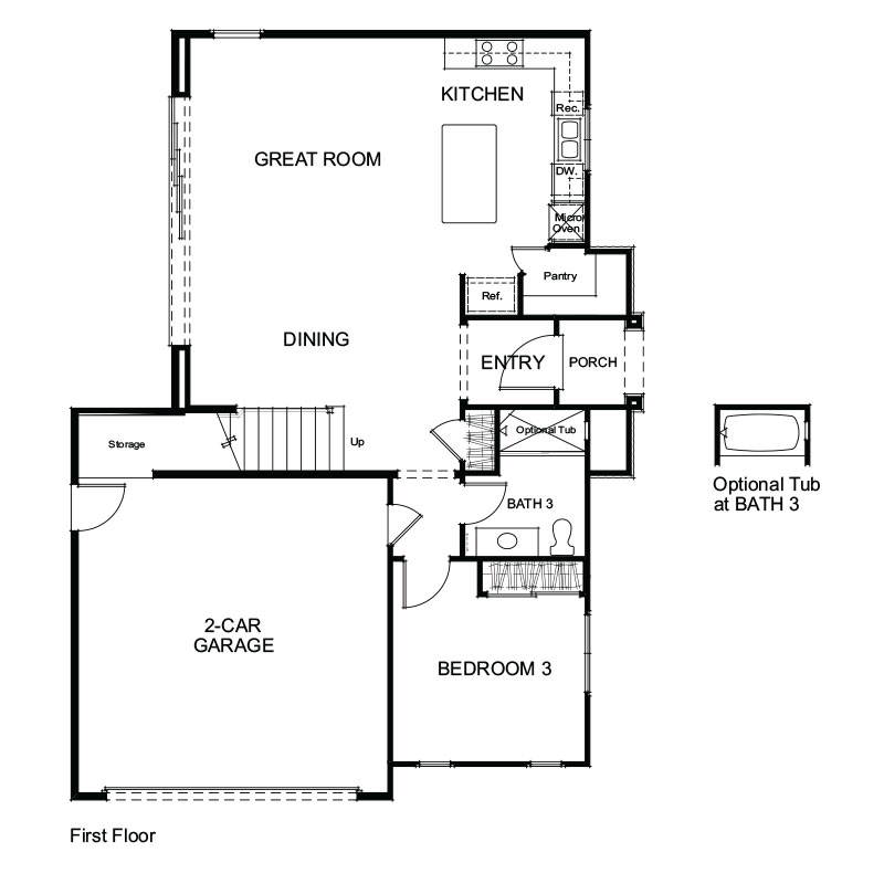 Lago Plan 1M First Floor
