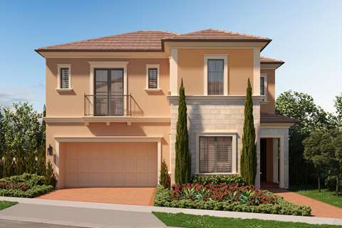 Formal Spanish with Stone Style Exterior - Ravello in Irvine