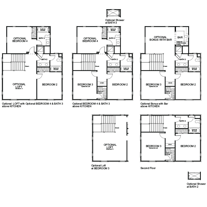 Verdi Plan 1 Second Floor